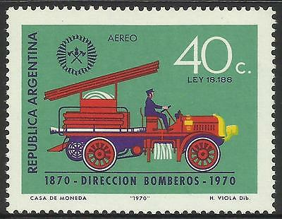 ARGENTINA 1970 FIRE ENGINE 1v MNH