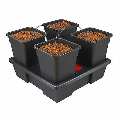 Atami Wilma 4 Pot Complete Dripper System Grow Kit Hydroponics NEW 2015