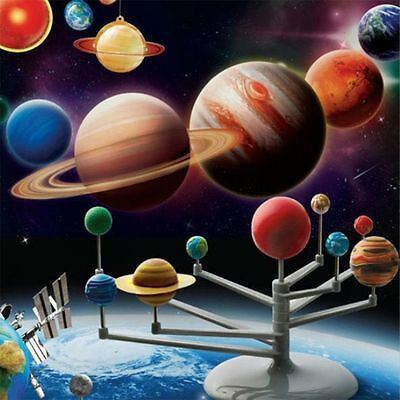 Solar System Planetarium Model Kit Astronomy Science Project DIY Kids Gift @S