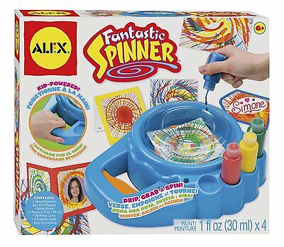 ALEX Toys Artist Studio Fantastic Spinner 161W Ages 6+ New Toy Boys Girls Paint