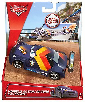 Disney Cars Max Schnell Car Race Ages 3+ Mattel Lightning Mcqueen New Toy Boys