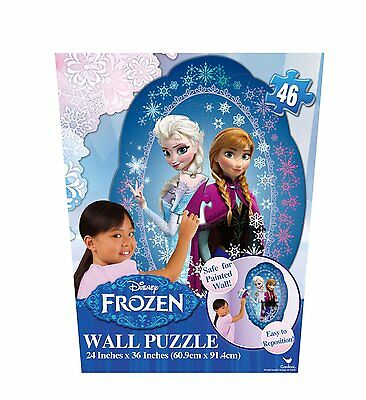 Disney Frozen Wall Puzzle 46 Piece Ages 4+ New Toy Boys Girls Learn Anna Elsa
