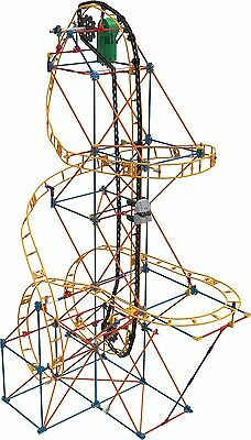 K'Nex Viper Venom Roller Coaster Building Set Ages 9+ Girls Build Design Gift