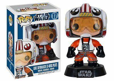 Classic Star Wars Luke as X-Wing Pilot Vinyl POP! Figure Toy #17 FUNKO NEW MIB