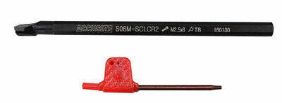 """3/8""""x6"""" RH SCLCR Indexable Boring Bar Tool Holder with CCMT Inserts, #P252-S401S"""