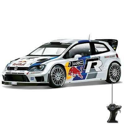 1:24 Race - VW/Red Bull Polo WRC Radio Controlled Remote Toy Fun Indoor Outdoor
