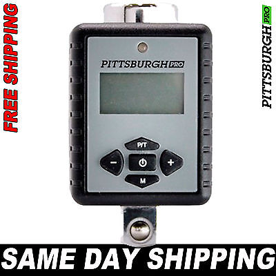 Pittsburgh Pro Digital Torque Wrench Adapter 1/2 1/4 3/8 Drive - SAME DAY SHIP