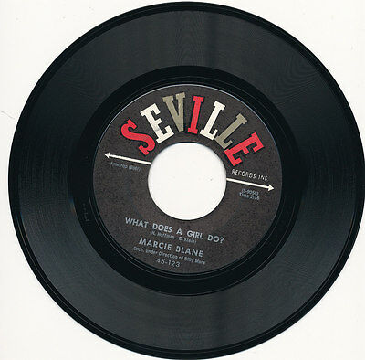 """7"""" - Marcie Blane - A Time To Dream / Bobby's Girl - Seville 9049 - Us 1962"""