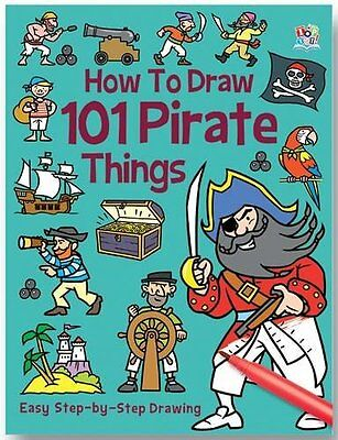 How To Draw 101 Pirata Things __ Nuevo __ Envío Gratis En Ru