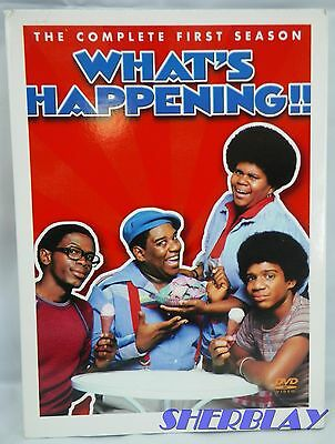 What's Happening !! - The Complete First Season (DVD, 2004, 3-Disc Set)