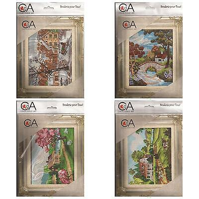 Tapestry Kits (14cm x 18cm) - Assorted Landscapes - 5 designs to choose from