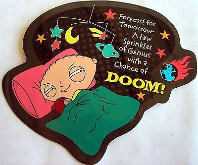 Family Guy Stewie Doom sticker  Licensed