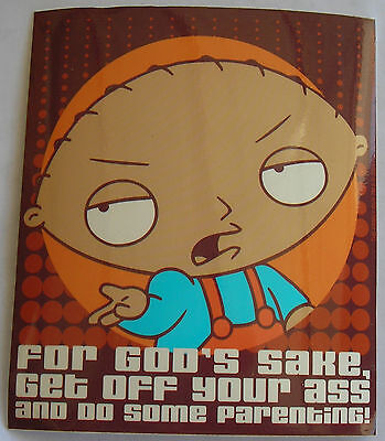 Family guy sticker stewie Licensed