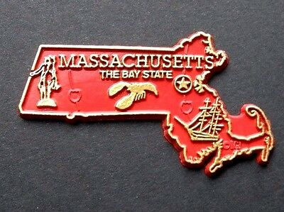 MASSACHUSETTS BAY BOSTON LOBSTER US STATE FLEXIBLE MAGNET 2 inches