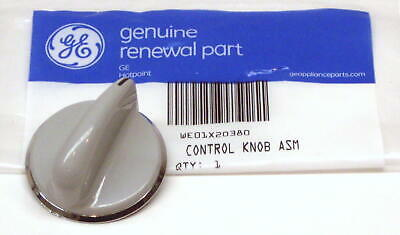 GE General Electric Dryer Knob Grey WE01X20380 AP5805162 PS8769914