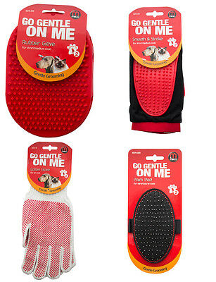Mikki Dog Puppy Cat Gentle Grooming Glove Mitt Palm Pad