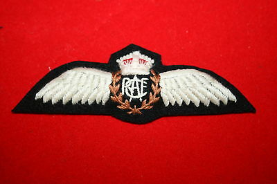 Copy Ww2 Wwii Royal Canadian Air Force Rcaf Canada Pilot's Wing In Cotton