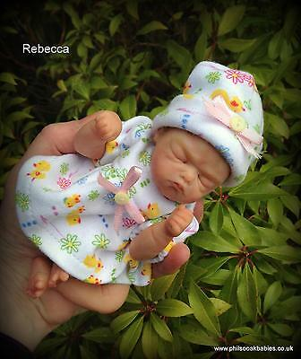 OOAK handsculpted polymer clay**  Baby Rebecca ** by Phil Donnelly