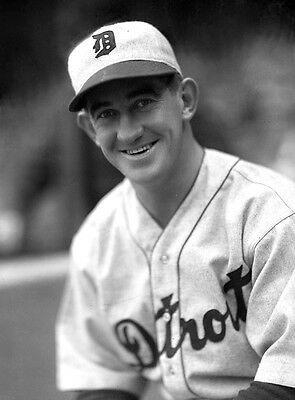 Mickey Cochrane 8X10 Tigers All Time Great