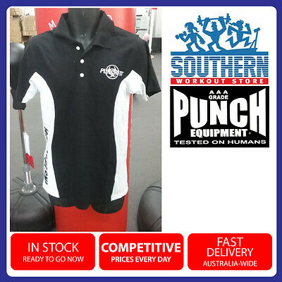Punchfit Instructor Polo Shirt Black Mens Or Womens