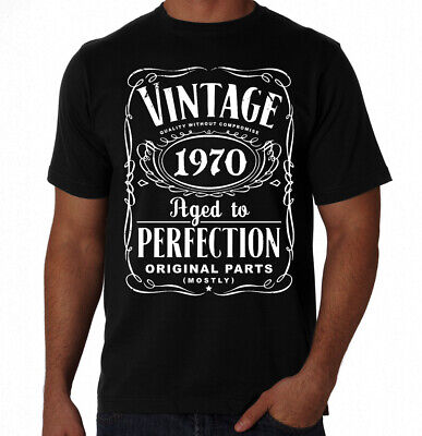 50th Birthday Vintage Aged To Perfection 1967 50 Years Old Gift Present T Shirt