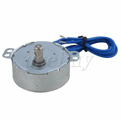 Turntable Synchronous Motor 50/60Hz AC 110V 4W 0.8-1RPM CCW/CW TYC-50 10MM Shaft
