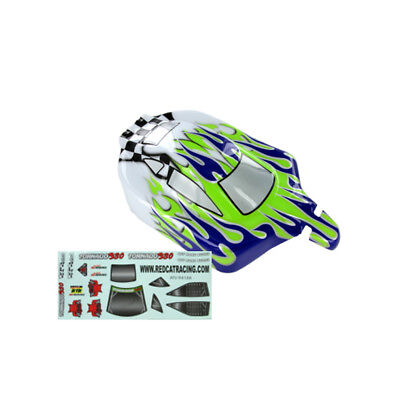 Redcat Racing 66002 Purple and Green 1/10 RC Buggy Body for Tornado Shockwave