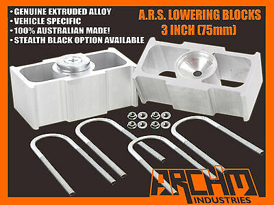 """TOYOTA HILUX 2WD 1997-2004 3"""" INCH (75mm) LOWERING BLOCKS (ALL MODELS)"""