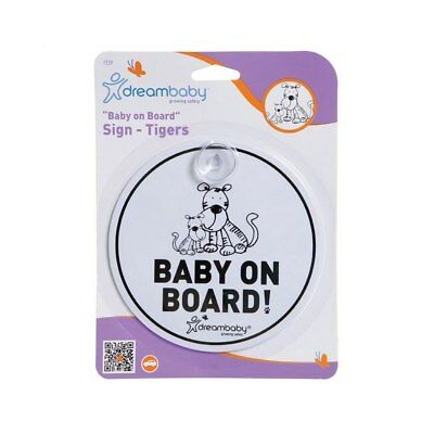 NEW Dreambaby Baby on Board Sign - Tiger Family from Baby Barn Discounts