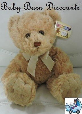 NEW korimco - Max Teddy Bear - Small - Beige - 34cm from Baby Barn Discounts