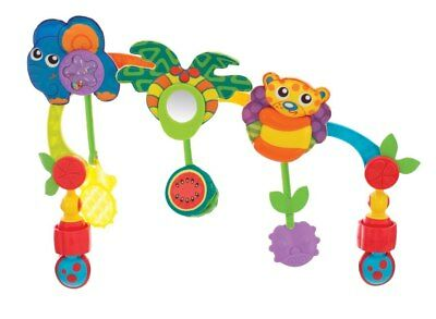 NEW Playgro - Tropical Tunes Travel Play Arch from Baby Barn Discounts