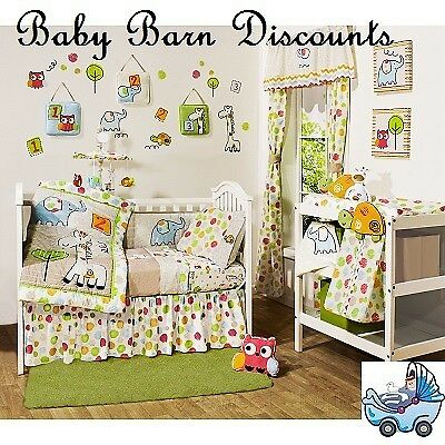 NEW Farallon - Jellybean 6 Piece Cot Set from Baby Barn Discounts