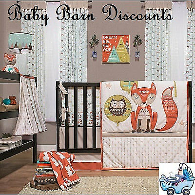 NEW Clever Fox 4 Piece Bed Set  (Floor Stock Only) from Baby Barn Discounts