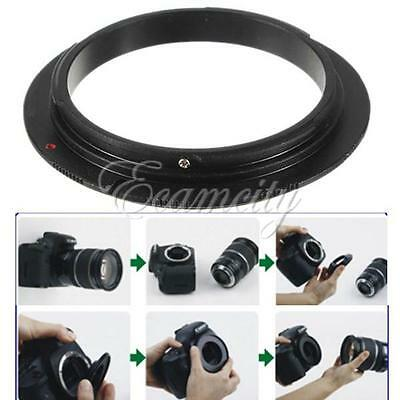 58mm Macro lens Reverse Adapter Ring For Canon EOS EF EF-S Mount 7D 5D 60D 1000D