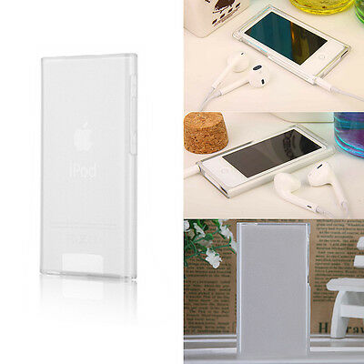 Transparent Clear TPU Gel Case Cover Skin For Apple iPod Nano 7th Generation 7G