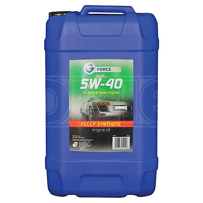 G Force 5w-40 Fully Synthetic Engine Oil - 25 Litres