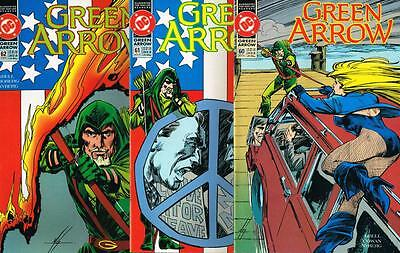 3 issues - Green Arrow - Issue # 60,61,62 **Mature Readers** 1992 - VF - (1490)