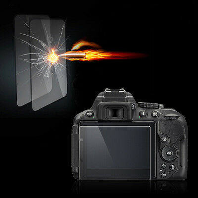 Clear Tempered Glass Film Camera LCD Screen Protector Guard for Nikon D5500 IM