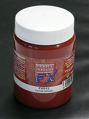 PRINCE AUGUST - OXYDE ROUGE - NEUF 200 ml référence FX012