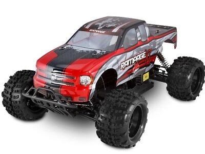 Rampage XT 1/5 Scale Redcat Racing 4x4 Gas Powered Remote Control RTR Truck Red