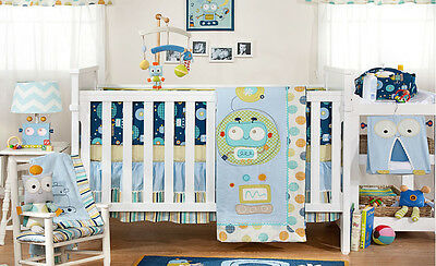 Brand New Living Textiles Baby Bot Collection 6 Piece Cot Linen Set