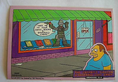 Simpsons Comic Book Guy sticker  Licensed Androids Dungeon