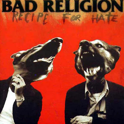 Bad religion Recipe for hate sticker  Licensed