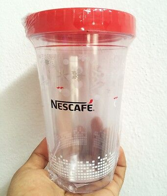 NEW Nescafe Coffee Tumbler cup 21oz Limited from Thailand ideal Premium Gift