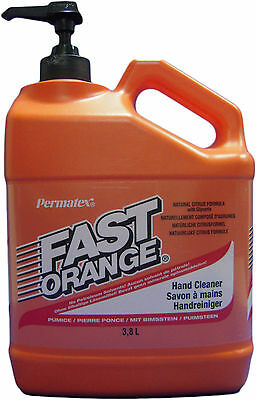 Fast Orange Hand cleaners, Workshop soap, Oil, Tar, Paint, 3, 78Liter Canister