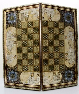 Chess And Backgammon Board - Amor