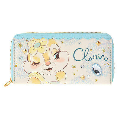 Disney Store JAPAN Clarice Wallet with Gift Bag NEW