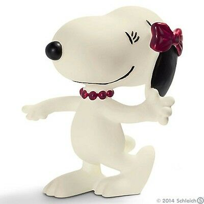 Snoopy Schleich-S 2015 / 2016 Peanuts Belle Figura In Gomma 22004