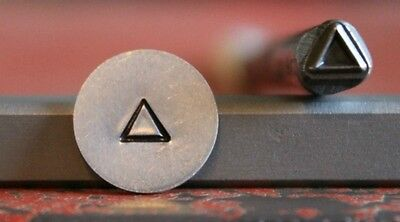 SUPPLY GUY 5mm Triangle Metal Punch Design Stamp SGC-33, Made in the USA