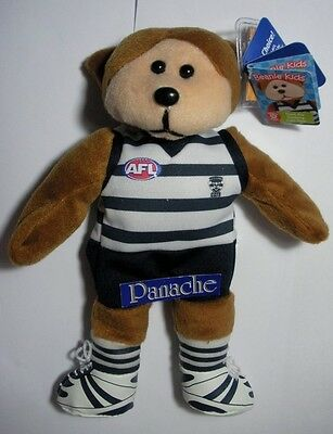 Skansen Beanie Kid Geelong Cats Afl Bear Mint With Mint Tag March  2012